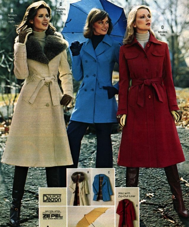 J C Penney 1977 Retro Fashion 1970s Clothing 70s Fashion