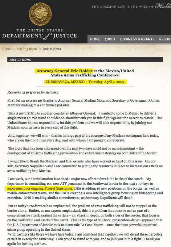 Obama In The Name Of Austerity: Officially Shuts Down US' Southern Border Air Defense System 3/15/13!Eric Holder knew about FAST & FURIOUS in 2009-DOC!