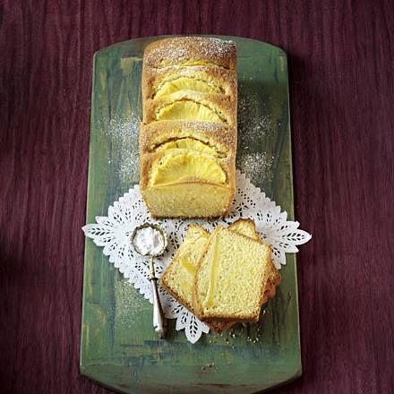 Exotischer Zitronen-Ananas-Kuchen