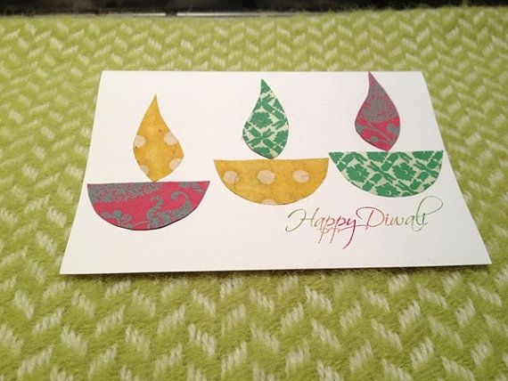 Diwali Homemade Greeting Cards Ideas_35