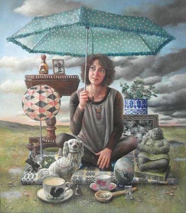 After the Rain. Sally Moore  - Martin Tinney Gallery