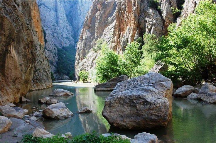 Yozgat Kazankaya Kanyonu.  Fotoğraf: Abdulkadir Yeşilyurt