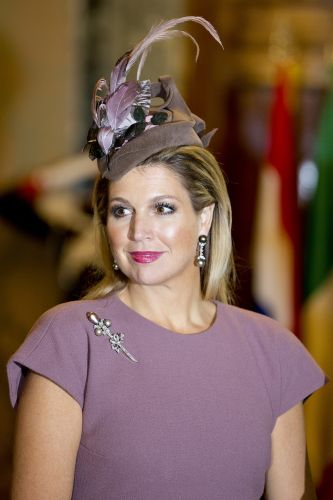 HM Queen Máxima of the Netherlands - January 23th 2014 - Visit to Italy