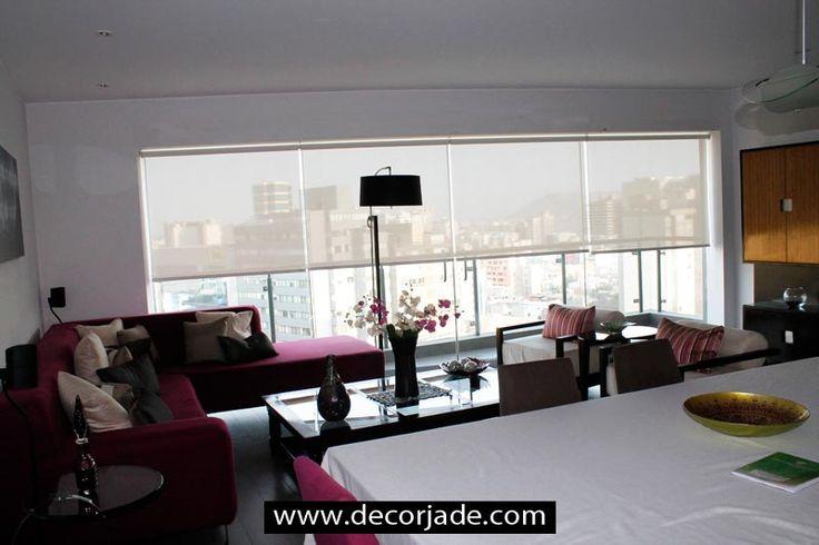 8 best cortinas modernas para sala images on pinterest for Telas para cortinas modernas