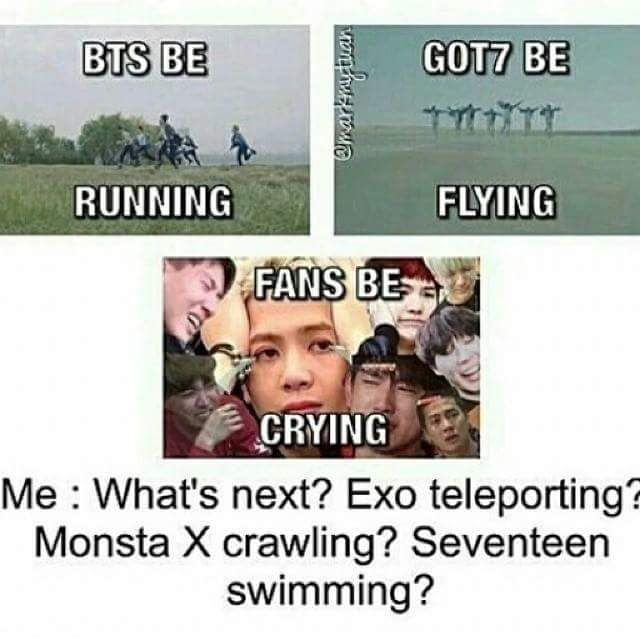 Exo teleporting? How can exo teleport? That's Kai's super power they already teleport!
