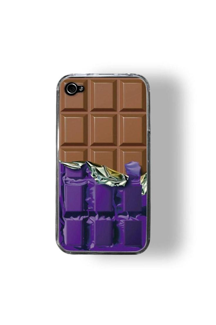 Chocolate phone case. willy wonka!