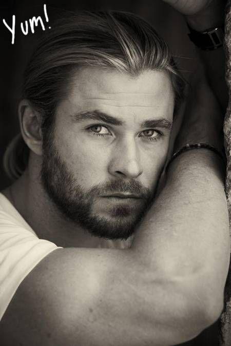 Chris Hemsworth, need I say more?