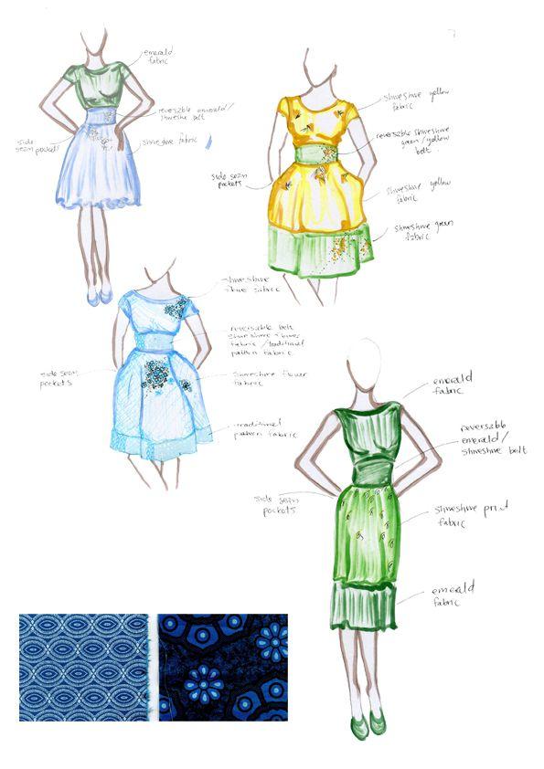 Fashion illustration by Tania at Hot Voodoo