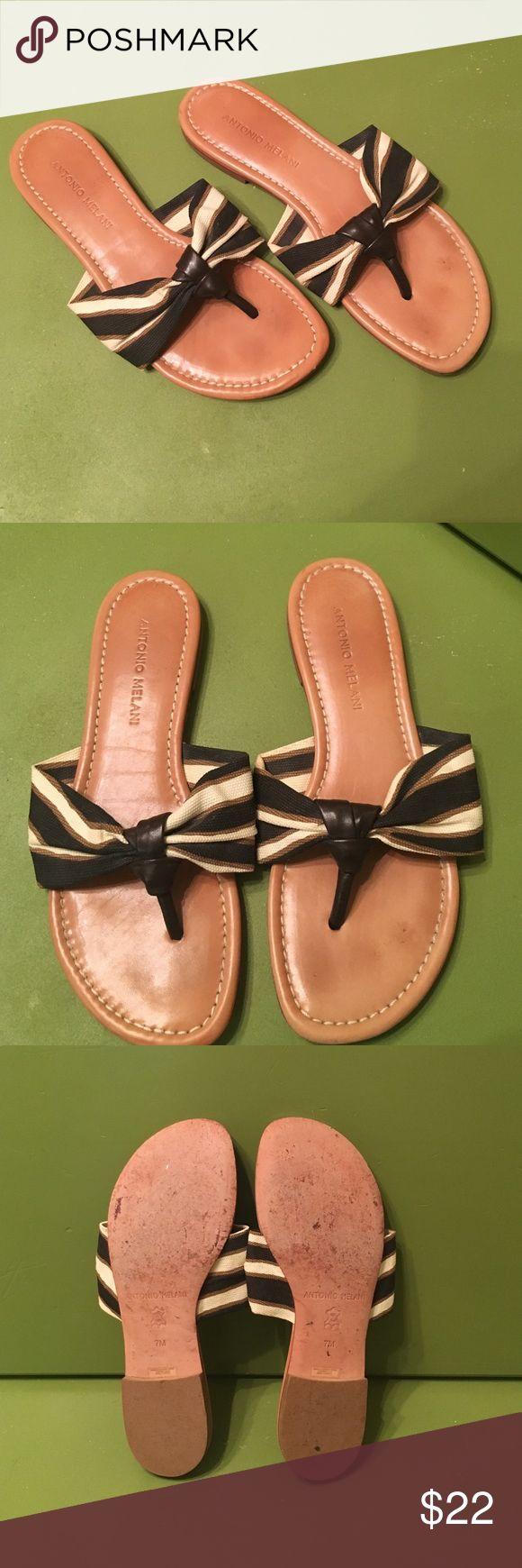 Antonio Melani sandals size 7 Antonio Melani sandals size 7. Great used condition! Only worn a few short times. ANTONIO MELANI Shoes Sandals