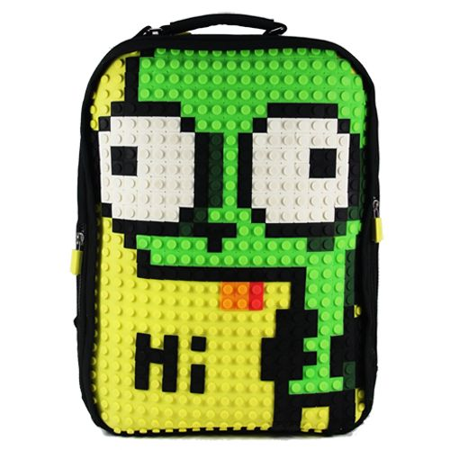 #A001 #UanyiEurope #CreativePixelBackpack  #Backpacks  #Alien #DIY