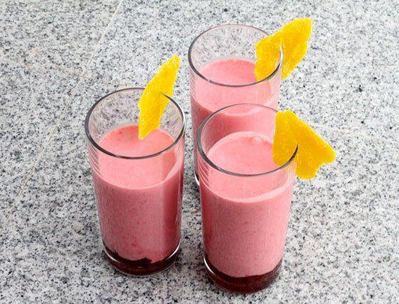 Shake malinowo-truskawkowy | i-love-diy
