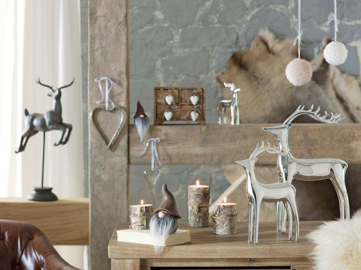Decoratiunile din lemn sunt in trend toamna #kikaromania #lemn #toamna #maro #lumanare #cerb #decoratiuni #accesorii