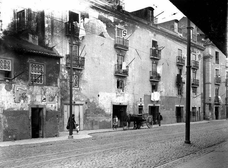 Rua da Bica do Sapato, 1942