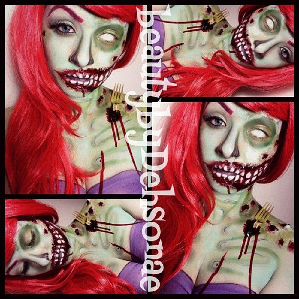 19 best Zombie Ariel images on Pinterest | Costumes, Princesses ...