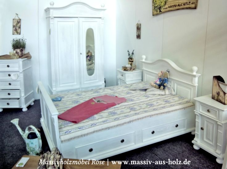73 besten Betten Bilder auf Pinterest Betten, Landhausstil und - schlafzimmer landhausstil weiß