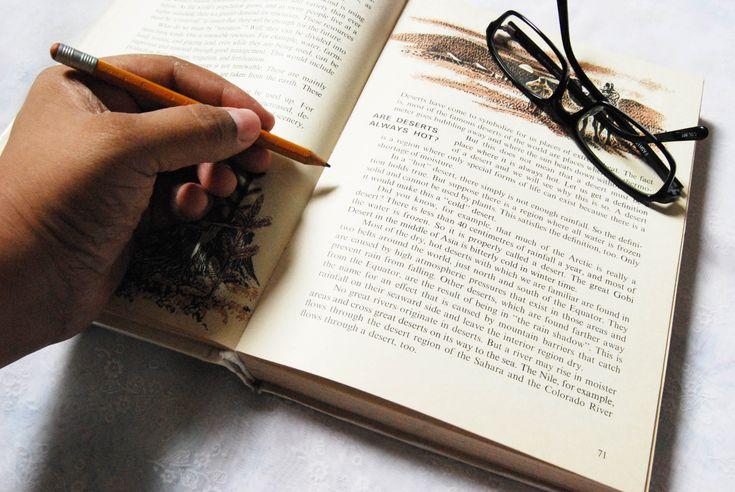 How to Skim Through a Book -- via wikiHow.com