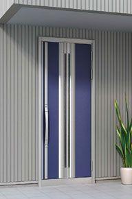 LIXIL | 玄関まわり | グランデル | 施工イメージ 61型パールブルー