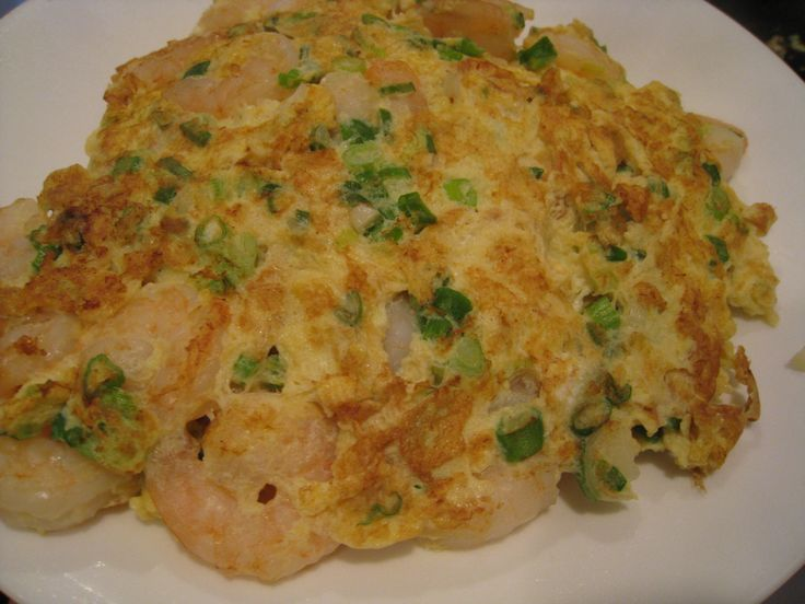 Chinese Shrimp Egg Foo Young