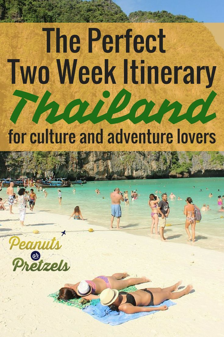 how to plan a week trip to thialand