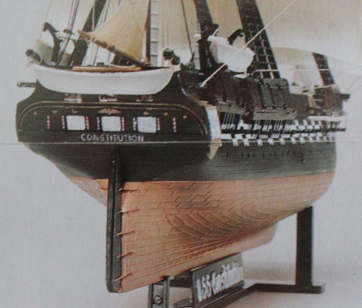 Revell U.S.S. Constitution Old Ironsides 1:196 Scale Model Kit 85-5404  #Revell