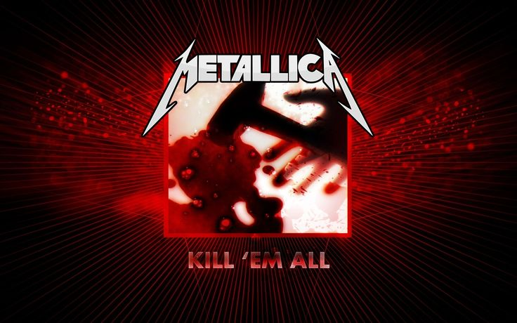 Kill 'Em All is the debut studio album by the American heavy metal band Metallica, released on July 25, 1983, by the independent record label Megaforce Records. Kill 'Em All is regarded as a groundbreaking album for thrash metal because of its precise musicianship, which fuses new wave of British heavy metal riffs with hardcore punk tempos. The album's musical approach and lyrics were markedly different from rock's mainstream of the early 1980s