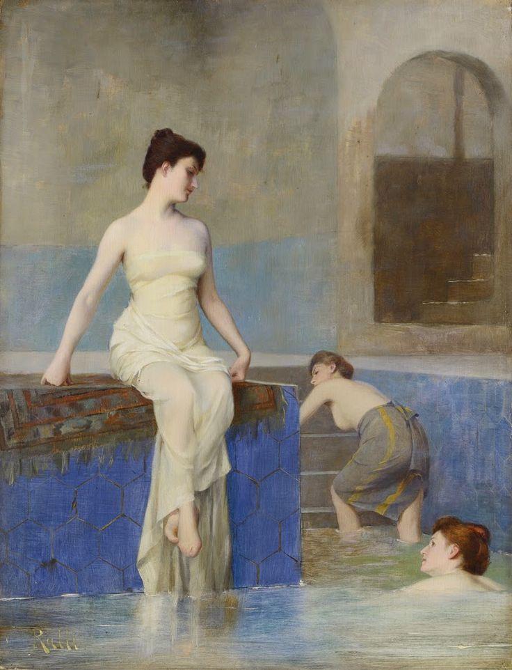 Greek painter Theodoros Rallis Θεόδωρος Ράλλης [1852-1909]