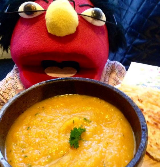 The secret to a delicious pumpkin soup is to add half a cooked Granny Smith apple to add sweetness #MrsWong's cooking tip from #The WongSideOfLife ...www.joy.net.au