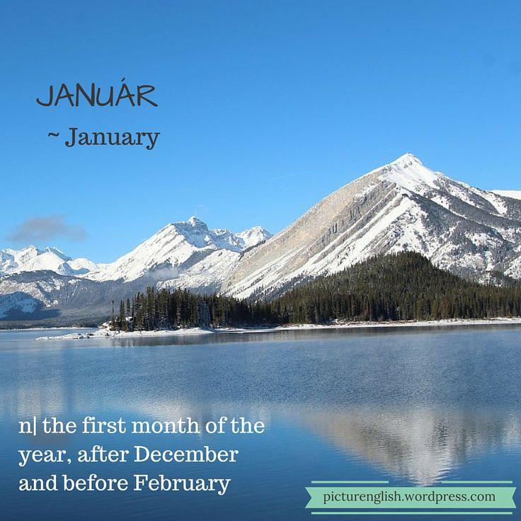 January / Január