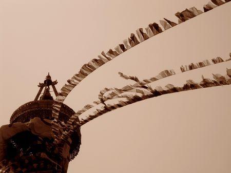 Kathmandu - Wind of Nepal by Emanuele Del Bufalo