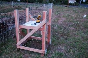 Building an automatic chicken waterer