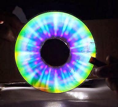 Experimentos caseros: Cómo hacer impresionantes arcoiris caseros con un CD
