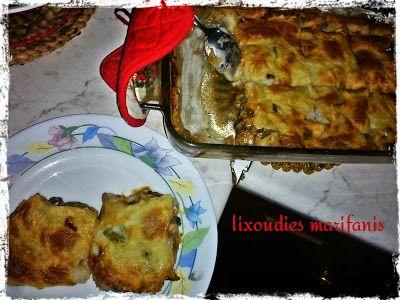 Οι λιχουδιές της Μαριφάνης: Παστίτσσιο λαχανικών με μπεσαμέλ πουρέ!!!