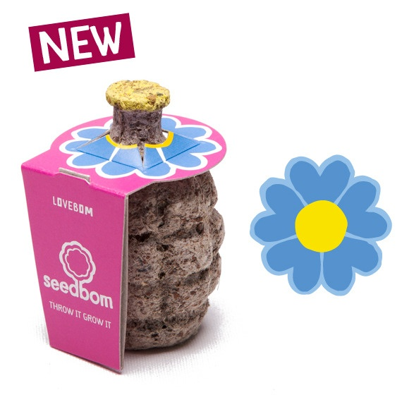 Seedbom... Throw it Grow it :)Lovebom Forget Me Not, Forget Me Not Lovebom, Seedbom Par, Par Seedbom, Lovebom 2 95, Seedbom Sur, Lovebom Forgetmenot, Products, Lovebom Lovebom