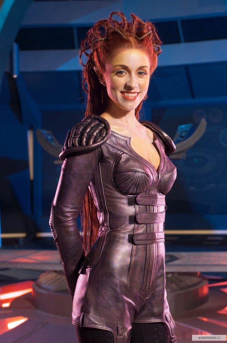 Laura Bertram as Trance Gemini on Andromeda Ascendant