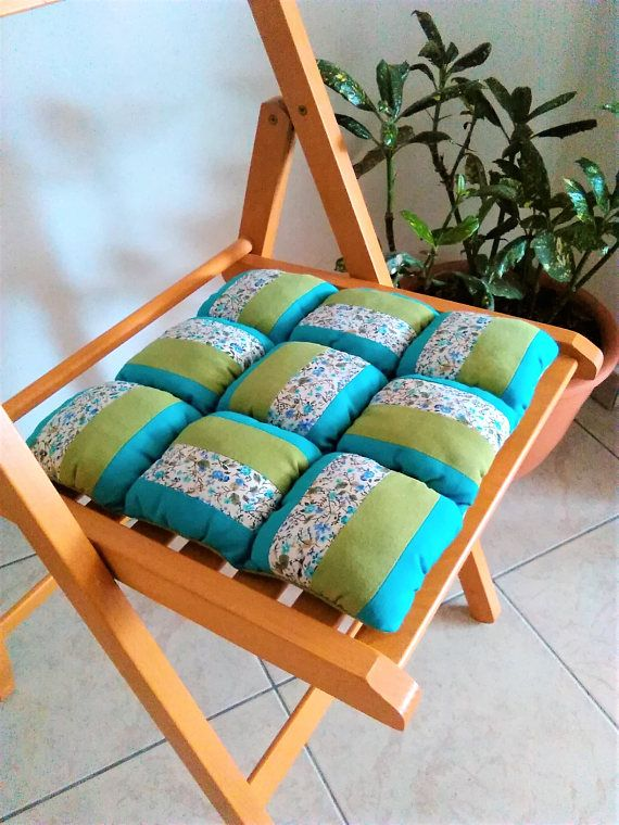 Patchwork Chair Cushion, Outdoor Decor, Indoor And Outdoor Chair Pads,  Colorful Pillows,