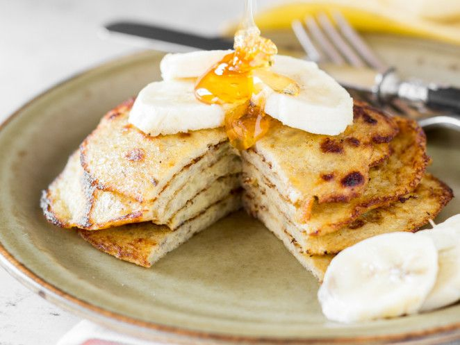 Ruckzuck-Low-Carb-Pancakes aus 2 Zutaten