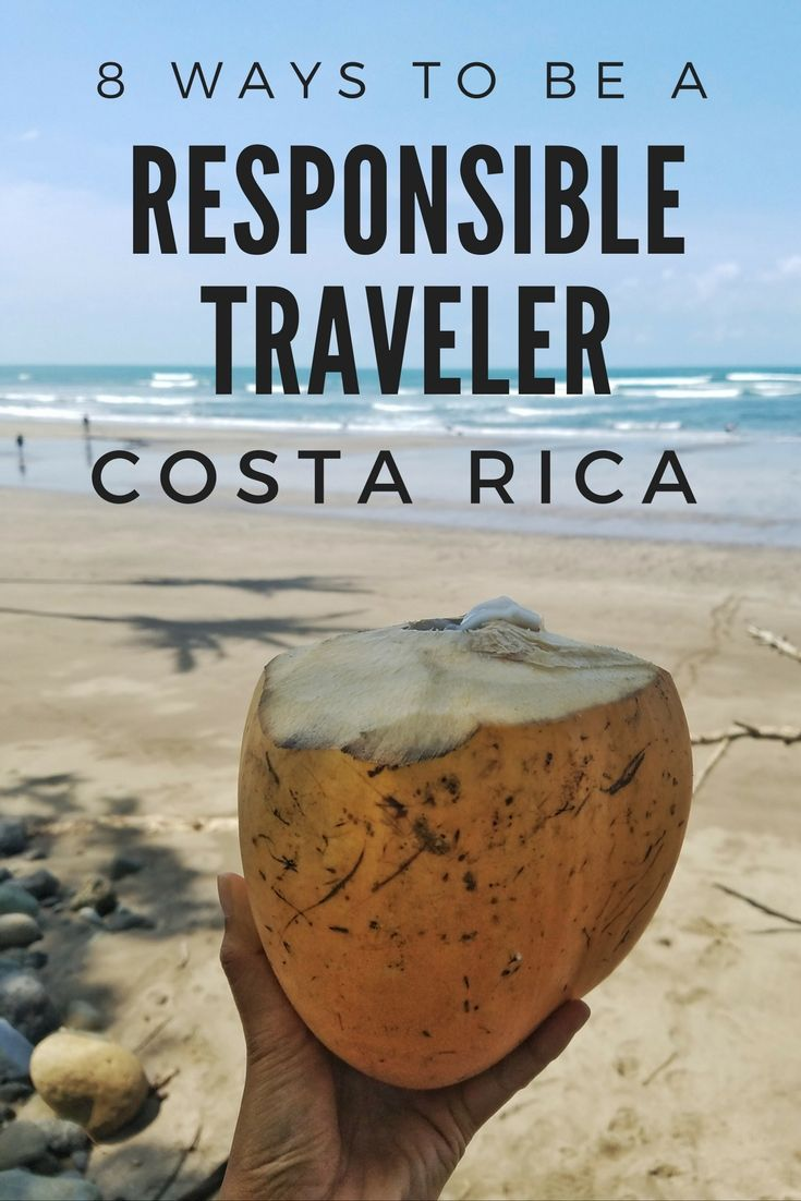 Be a responsible traveler in Costa Rica with these 8 simple tips. Click through to read: https://mytanfeet.com/costa-rica-travel-tips/responsible-traveler-costa-rica/    Costa Rica | Costa Rica travel tips | Costa Rica travel blog