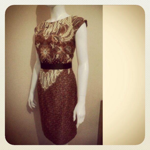 Premium Batik Dress