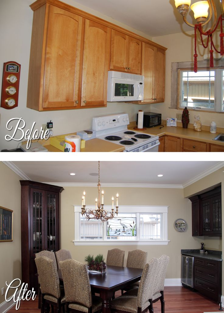 National Home Improvement Month Before/After #19   Apartment Kitchen  Converted To A Single