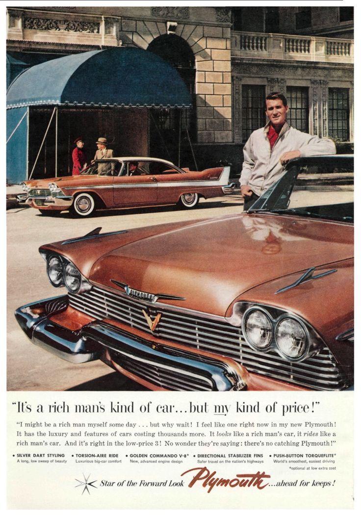 670 best Autos 1950 - 1959 images on Pinterest   Cars, Vintage ...