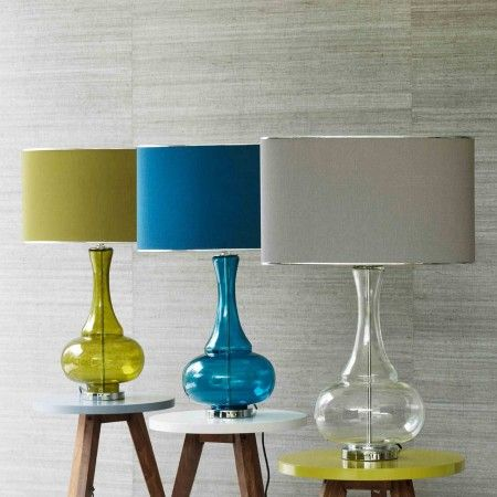 Taupe lamp