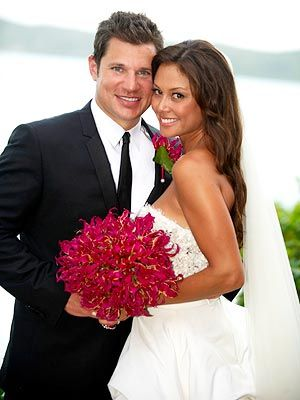 Vanessa Minnillo and Nick Lachey. These two are so cute together. I love down to earth celebs