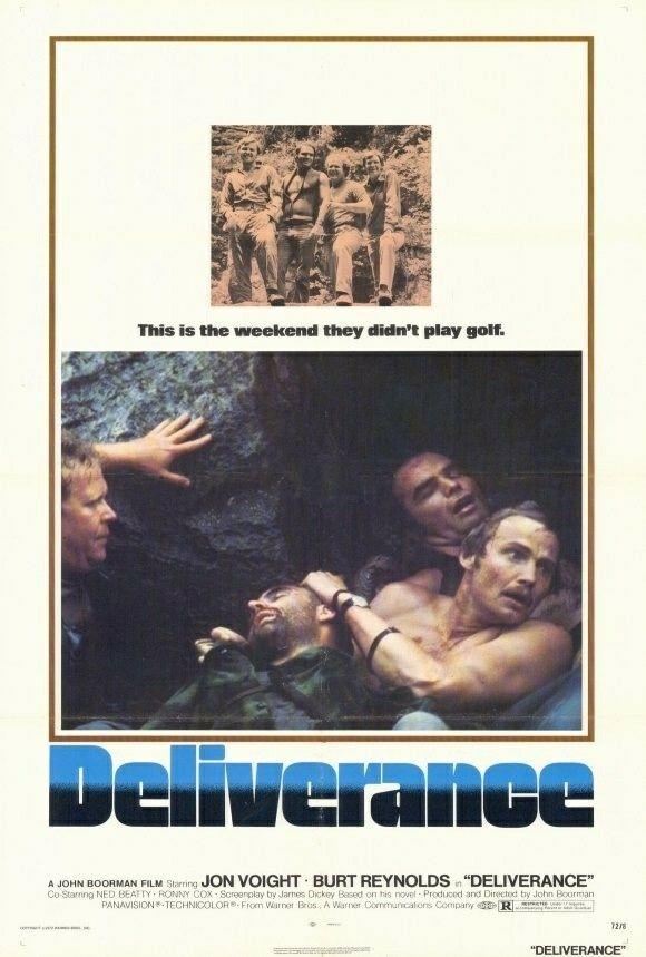 Deliverance (1972) Jon Voight, Burt Reynolds, Ned Beatty