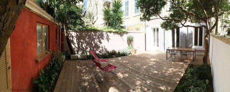 Cabane jardin marseille et terrasse bois b jardin maison biscornue pinterest marseille - Terrasse jardin londrina quadra marseille ...