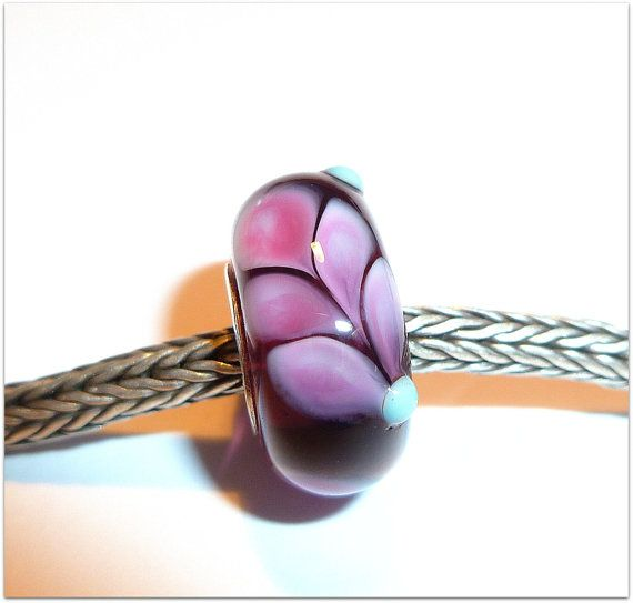 luccicare beads | Luccicare Lampwork Bead - Lined with Sterling Silver