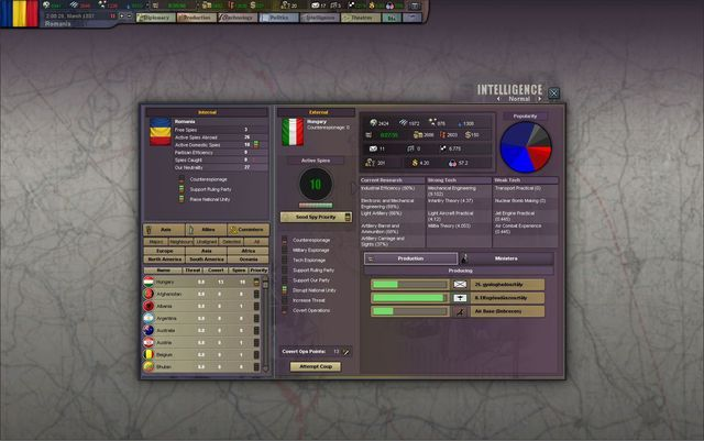 Hearts of Iron III: Their Finest Hour Screenshot