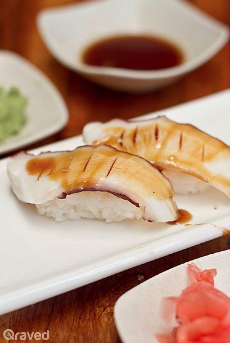 Tako Sushi at Umaku Sushi Resto