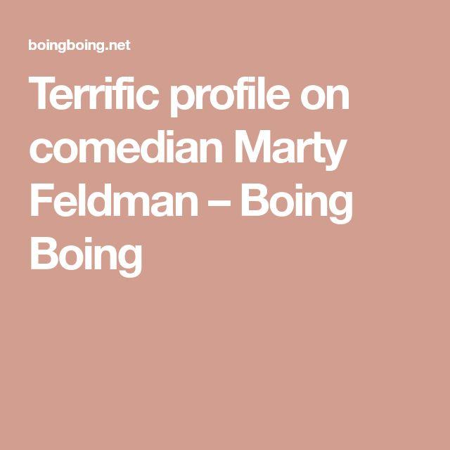 Terrific profile on comedian Marty Feldman – Boing Boing