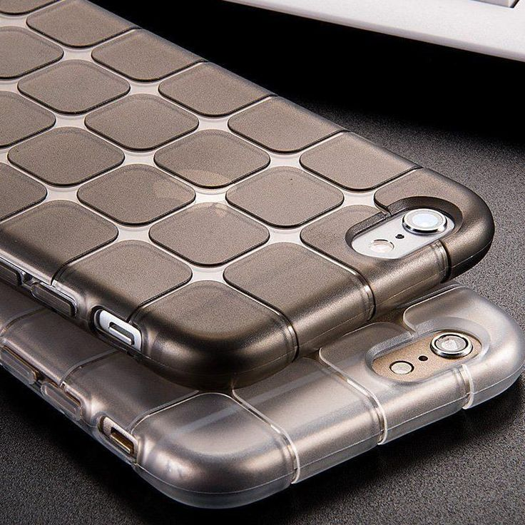 for iPhone 6S Case for iPhone 7 Luxury Shockproof Silicone Gel Ultra Slim Case Clear TPU Soft Back Cover for iPhone 7 Plus 5S SE