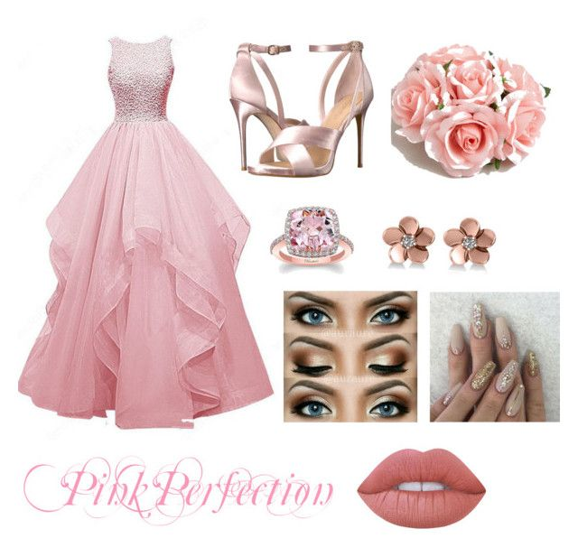 Prom Night💗✨ by erinkennedy1 on Polyvore featuring polyvore, fashion, style, Imagine by Vince Camuto, ASOS, Allurez, Lime Crime, SPECIAL DAY and clothing